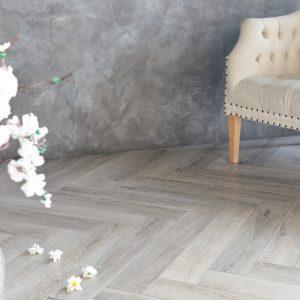 Кварцвиниловая плитка Aquafloor серии Parquet+