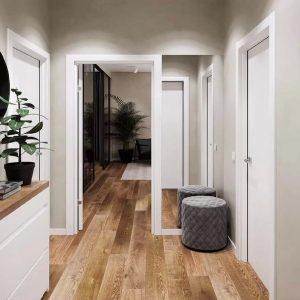 Напольные покрытия в коридор