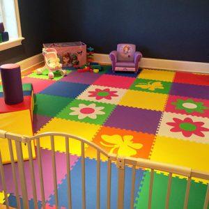 Напольное покрытия для игровых комнат